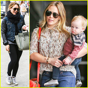 Hilary Duff: Babies First Class with Luca!
