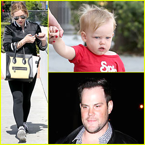 Hilary Duff: Daily Grill Lunch Stop!
