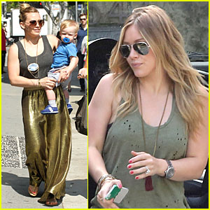 Hilary Duff: Luca's Walking Practice!
