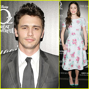James Franco & Emmy Rossum: 'Oz the Great and Powerful' New York Screening!