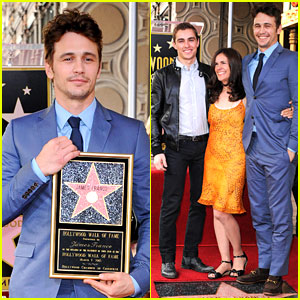 James Franco: Hollywood Walk of Fame Star Ceremony!