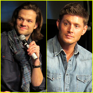 Jared Padalecki & Jensen Ackles: 'Supernatural' Convention!