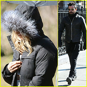 Jennifer Aniston & Justin Theroux: Different State Outings!
