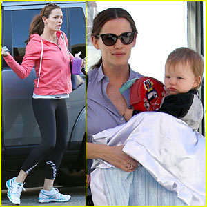 Jennifer Garner: Soul Cycle Saturday Workout!