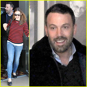 Jennifer Garner & Ben Affleck: Piano Shopping Couple!