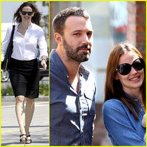 Jennifer Garner & Ben Affleck: Violet's Basketball Game!
