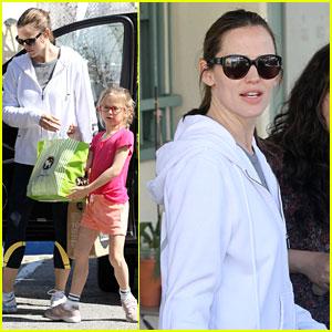 Jennifer Garner: Pizza Party with Violet!