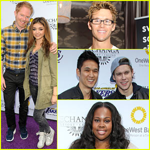 Jesse Tyler Ferguson & Ryan Kwanten: Lakers Casino Night!