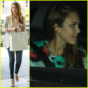 Jessica Alba & Cash Warren: Matsuhisa Dinner Date!