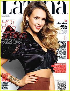 Jessica Alba Covers 'Latina' April 2013