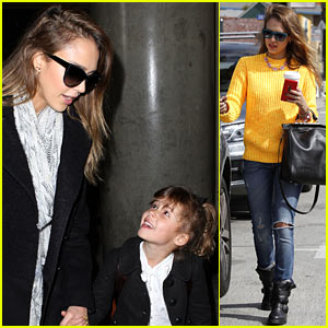 Jessica Alba & Honor: Hello, L.A.!