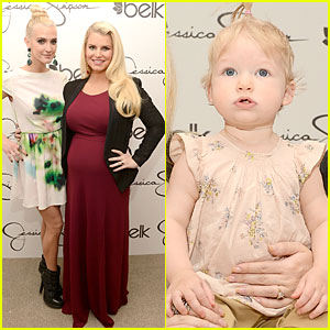 Jessica & Ashlee Simpson: Belk Southpark Visit with Maxwell!