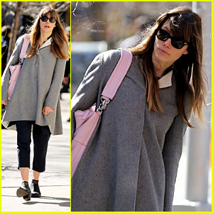 Jessica Biel: Saturday Stroll in NYC