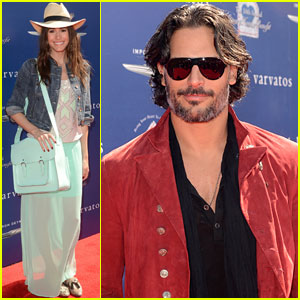 Joe Manganiello & Louise Roe: John Varvatos Stuart House Benefit