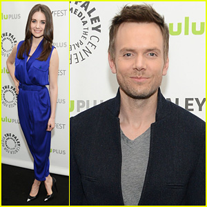 Joel McHale & Alison Brie: PaleyFest with 'Community' Cast!