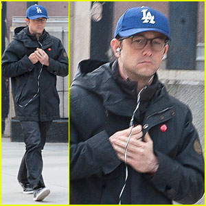 Joseph Gordon-Levitt: Los Angeles Dodgers Love in NYC!