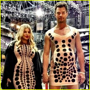 Josh Duhamel: Fake Baby Bump with Pregnant Fergie!