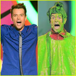 Josh Duhamel: Slime Covered Host at Kids' Choice Awards!