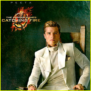 Josh Hutcherson: 'Hunger Games: Catching Fire' Peeta Portrait!
