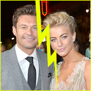 Former boyfriend and girlfriend: Ryan Seacrest and Julianne Hough