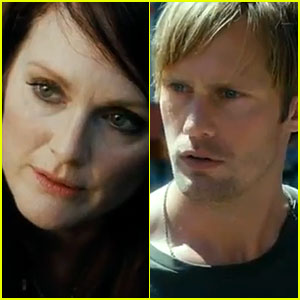 Julianne Moore & Alexander Skarsgard: 'What Maisie Knew' Trailer!