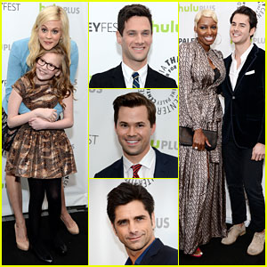 Justin Bartha & Andrew Rannells: 'New Normal' at PaleyFest!