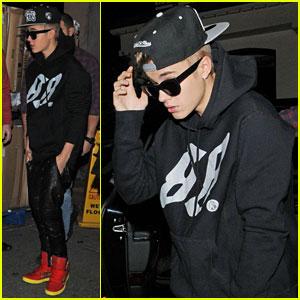 Justin Bieber: Mint Leaf Dinner