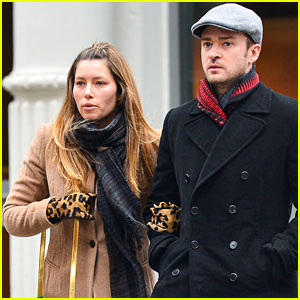 Justin Timberlake & Jessica Biel: SoHo Stroll!