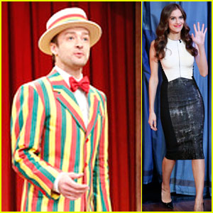 Justin Timberlake: 'Sexyback' on 'Fallon' with Allison Williams!