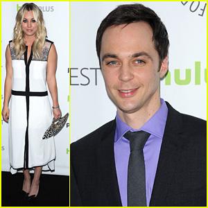 Kaley Cuoco & Jim Parsons: 'Big Bang Theory' at PaleyFest!