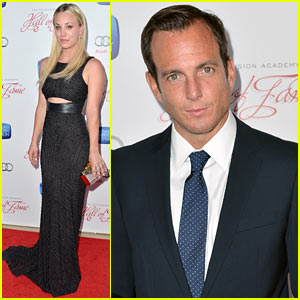 Kaley Cuoco & Will Arnett: Academy Hall of Fame Gala!