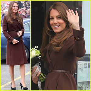 Kate Middleton: Pregnant National Fishing Heritage Center Visit