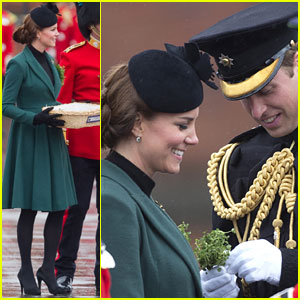 Kate Middleton: Pregnant St. Patrick's Day Parade with Prince William!