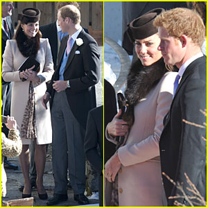 Pregnant Kate Middleton & Prince William: Swiss Wedding with Prince Harry!