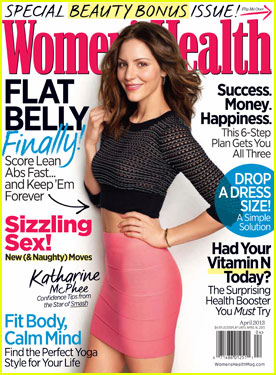 Katharine McPhee Covers 'Women's Health' April 2012