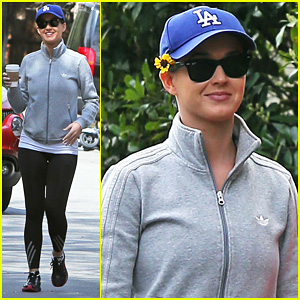 Katy Perry: Sunny Morning Workout!