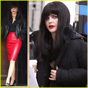 Keri Russell: Long Black Wig for 'The Americans'!