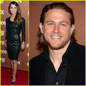 Keri Russell & Charlie Hunnam: FX Upfront Bowling Event!