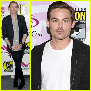 Kevin Zegers & Jamie Campbell Bower: 'Mortal Instruments' WonderCon Panel