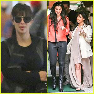 Kim Kardashian: Atlanta Landing for 'Temptation' Premiere!