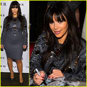 Kim Kardashian: 'DuJour' Magazine Celebration!