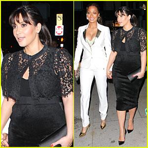 Pregnant Kim Kardashian Misses LaLa Anthony!