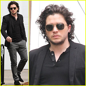 Kit Harington: 'Game of Thrones' Promotion on 'Extra'!