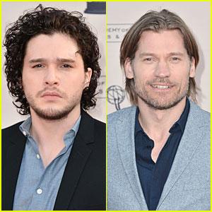 Kit Harington & Nikolaj Coster-Waldau: 'Game of Thrones' Academy Evening!