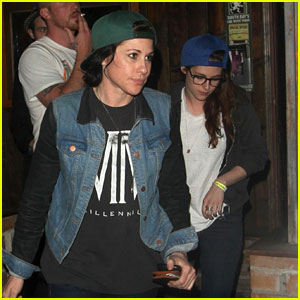 Kristen Stewart: Saint Rocke Concert with Tamra Natisin!