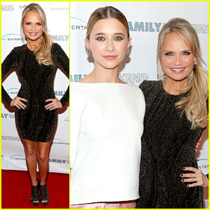 Kristin Chenoweth & Olesya Rulin: 'Family Weekend' Premiere!