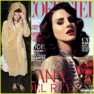 Lana Del Rey Covers 'L'Officiel' Magazine April 2013!