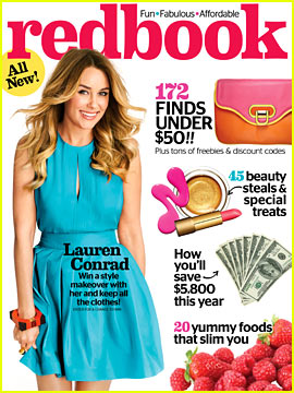 Lauren Conrad Covers 'Redbook' April 2013