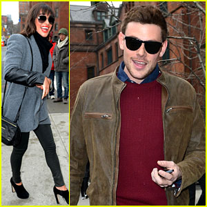 Lea Michele & Cory Monteith: Big Apple Lunch!
