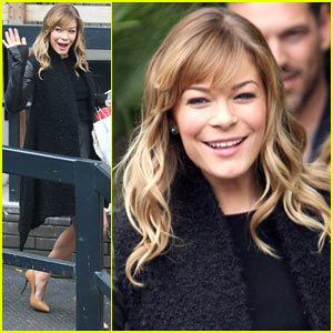 LeAnn Rimes: ITV Studios Stop for 'Loose Women'!
